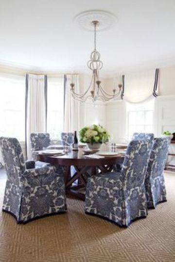 Los forros para sillas de comedor para cuidar y embellecer