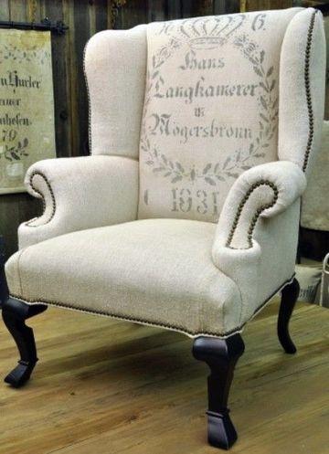 fundas para sillones orejeros vintage