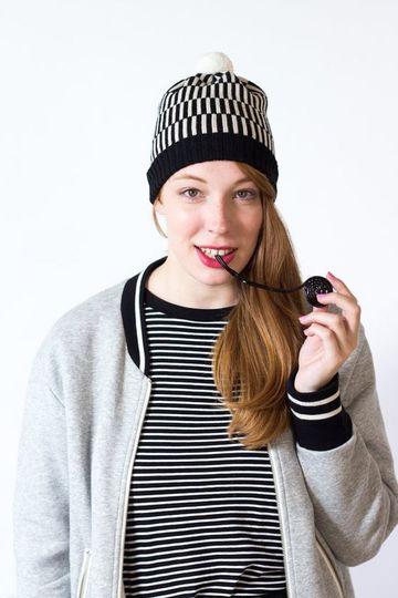 Lindos y variados modelos de gorros de lana para mujer 391b6f8ca9a