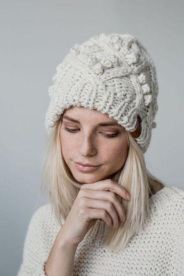 lindos y variados modelos de gorros de lana para mujer