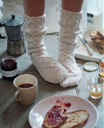 imagenes de tejidos de lana de calcetines