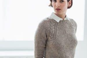 Lindos diseños reunidos en estas imagenes de tejidos de lana