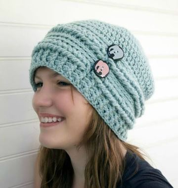 sombreros a crochet para mujer moderno