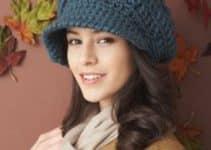 Unos diseños modernos de sombreros a crochet para mujer
