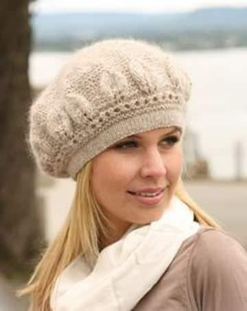 sombreros a crochet para mujer tipo vasco