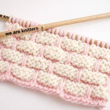 tipos de tejidos artesanales dos agujas