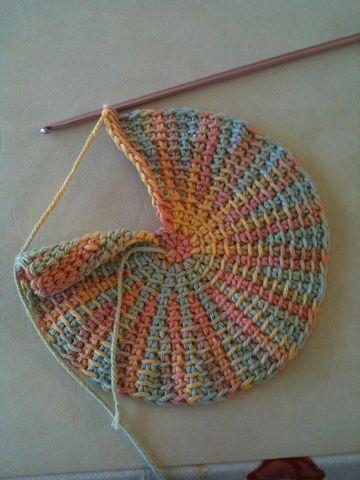 agarraderas a crochet paso a paso redondo