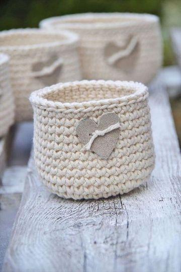 artesanias tejidas al crochet para el hogar