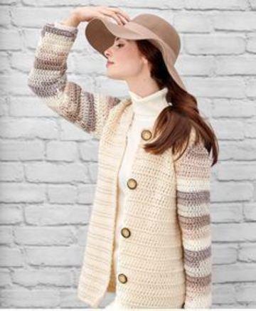 camperas tejidas al crochet clasico
