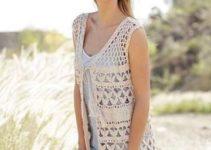 Los chalecos de verano a crochet muy frescos y modernos