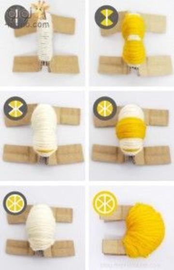 frutas a crochet paso a paso limon amarillo