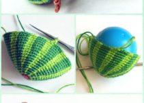 Haz frutas a crochet paso a paso con estos patrones gratis