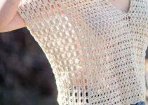 Los ponchos de verano a crochet de varios tipos para ellas