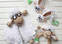 Curiosidades hermosas en tejidos a mano para bebes niñas