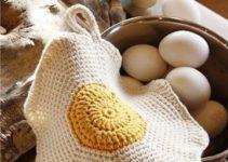 Unos toma ollas a crochet lindos y funcionales en tu cocina
