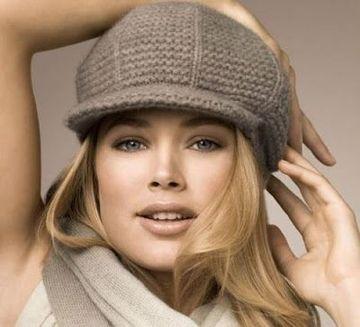 imagenes de gorros tejidos para mujeres de moda