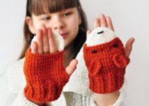 Unas ideas de manoplas tejidas a crochet para todos y todas