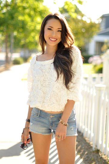 modelos de shorts para mujeres de jeans