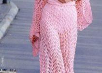 Frescura y belleza con los pantalones tejidos a crochet