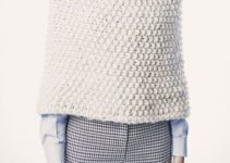 Las toquillas de punto para abuelas elegantes y versatiles