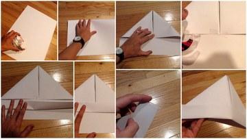 como hacer un gorro de marinero tradicional de papel
