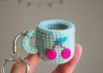 Los llaveros tejidos a crochet un adorable detalle para todo