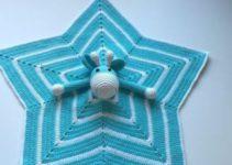 Las mantitas de apego para bebes con amigurumis