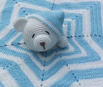 mantitas de apego para bebes de osito