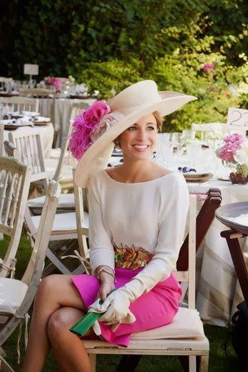 pamelas y tocados para bodas hermosas