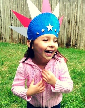 sombreros creativos para niños americano