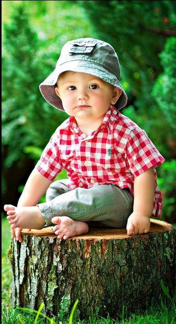 sombreros de primavera para niños sencillos