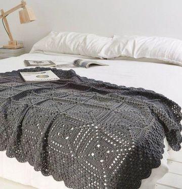 tejidos a crochet para colchas de camas