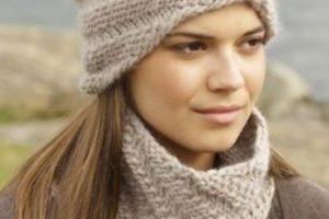 Preciosos gorros y bufandas tejidas para todas las edades