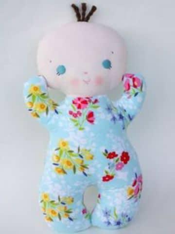 muñecos de apego para bebes hecho a mano