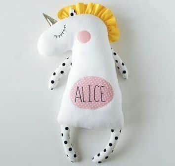 muñecos de apego para bebes personalizado