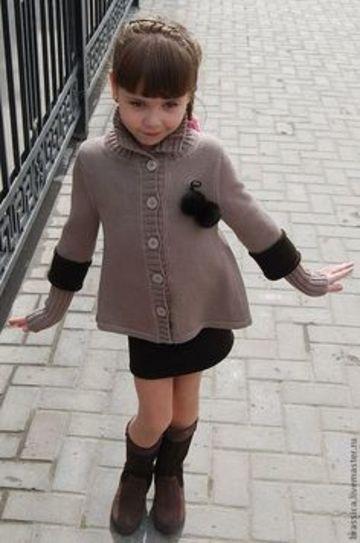 boleros a crochet para niña elegantes