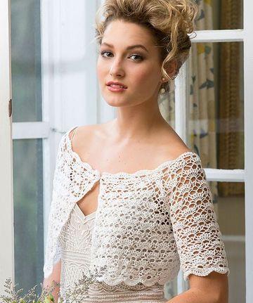 boleros tejidos a crochet hermosos
