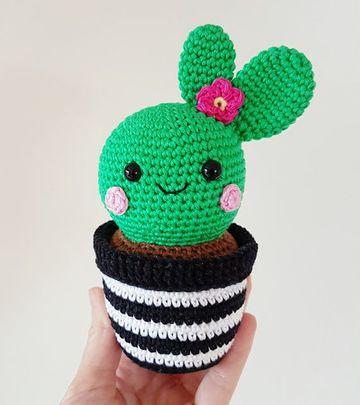 cactus tejidos a crochet lindos para regalar