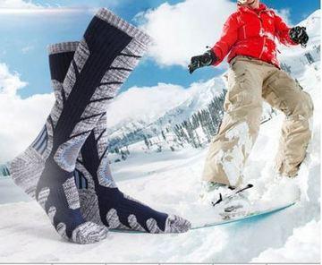 calcetines termicos para el frio en la nieve