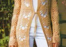 Hermosas chompas tejidas a crochet para damas