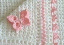 Preciosos modelos de colchitas para bebe a crochet