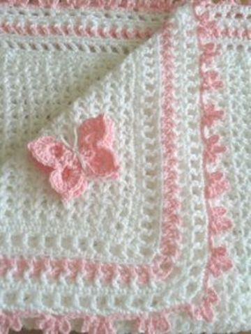 colchitas para bebe a crochet hembra