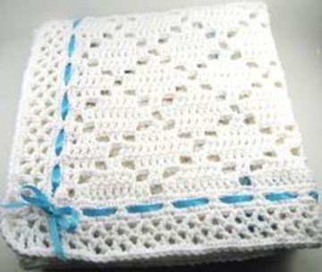 colchitas para bebe a crochet varon