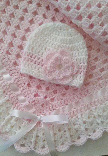 colchitas para bebe a crochet y accesorios