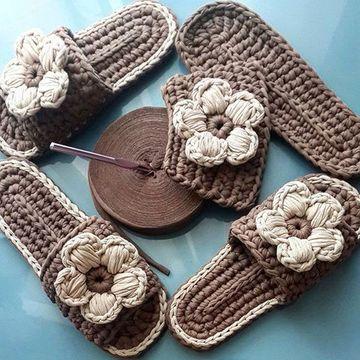como hacer pantuflas a crochet para niñas