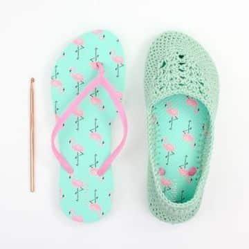 como hacer zapatillas de ganchillo faciles