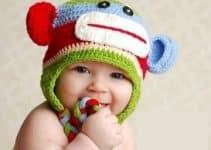 Adorables gorros con orejeras para niños para este invierno