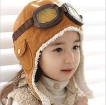 gorros con orejeras para niños tipo aviador