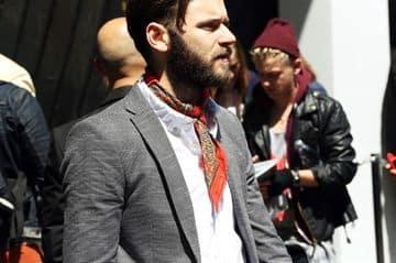 pañuelos de cuello para hombres elegante