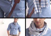 Cómo llevar pañuelos de cuello para hombre para toda ocasión